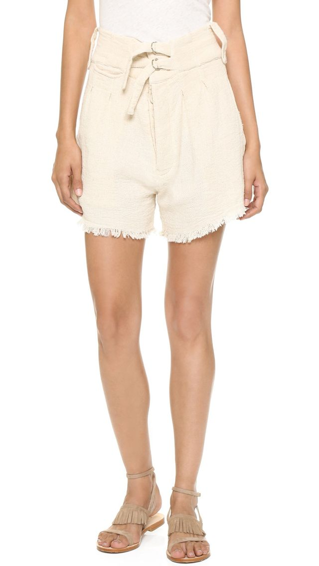 Shakuhachi Safari Raw Edge Shorts