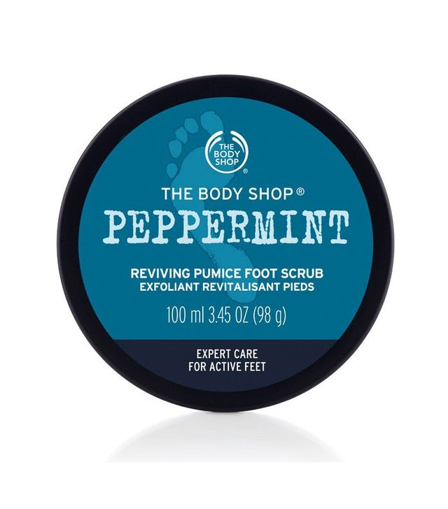 The Body Shop Peppermint Reviving Pumice Foot Scrub