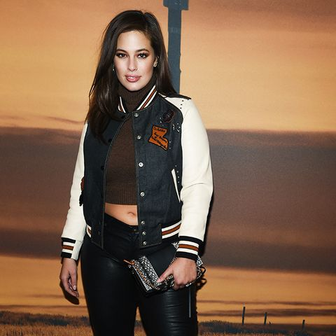Crop top outfits: Ashley Graham
