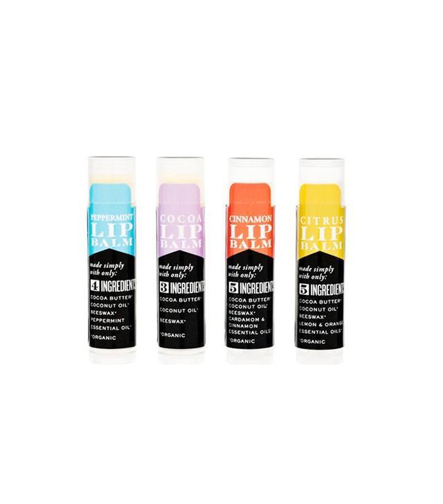 S.W. Basics Organic Lip Balm Flight