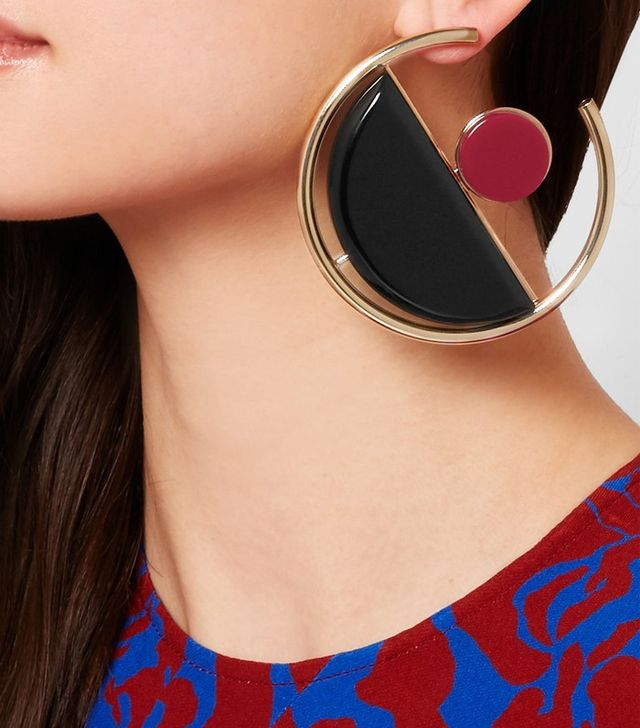 Marni Gold-Plated Acrylic Earrings