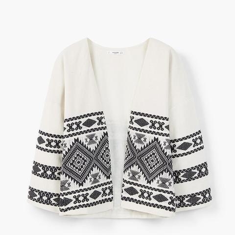 Jacquard Cotton Jacket