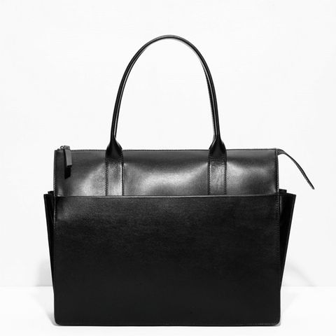 Pleat Handbag