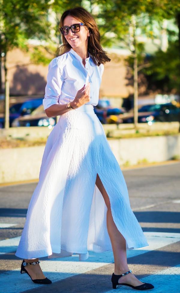 The Piece: Slit Skirt