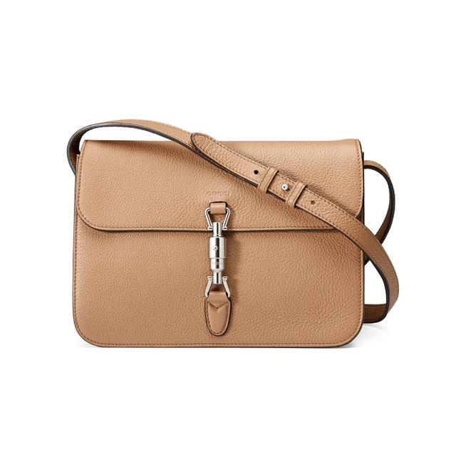 Gucci Jackie Soft Leather Shoulder Bag
