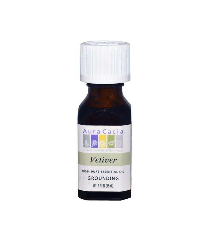 Vetiver Grounding Essential Oil by Aura Cacia