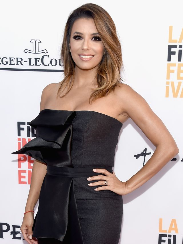 Eva Longoria Swaps Her Engagement Ring For Two Wedding Bands