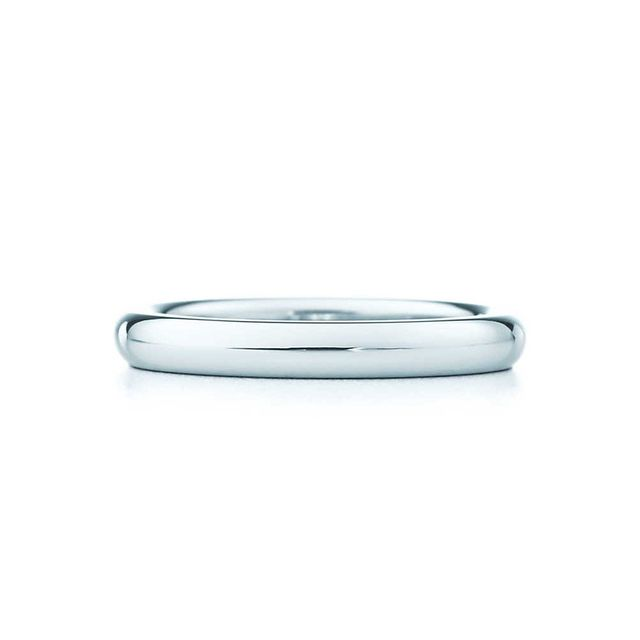 Elisa Peretti Platinum Stacking Band Ring