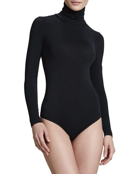 Wolford Colorade String-Body Turtleneck