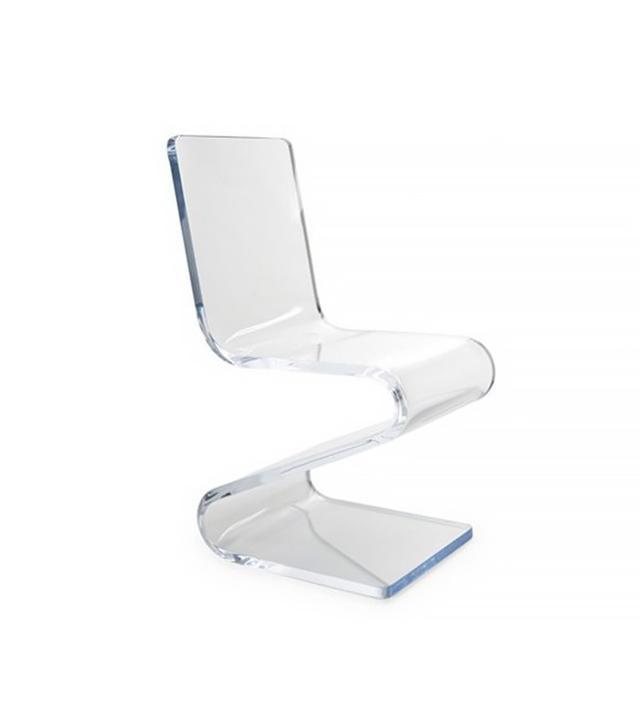 Plexicraft Gage Acrylic Side Z-Chair