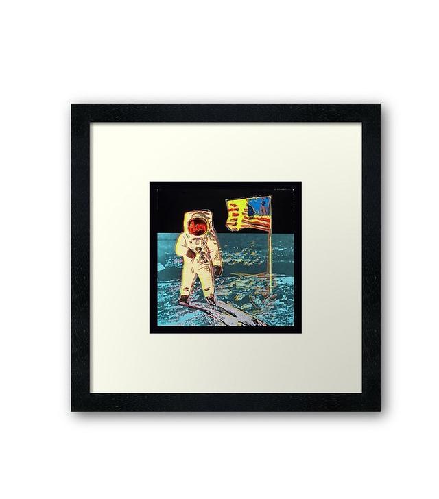 Redbubble Moonwalk Framed Print