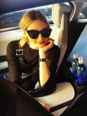 Under-$60: Olivia Palermo's Cat-Eye Sunglasses Are Perfect