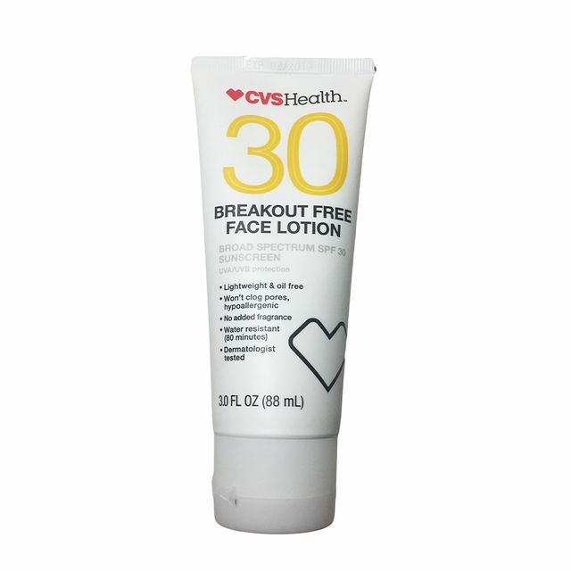 CVS Health Breakout Free Face Lotion