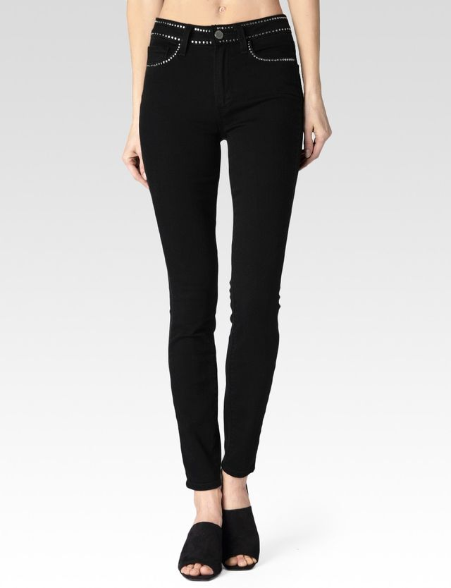 Paige Denim Hoxton Studded Imperial
