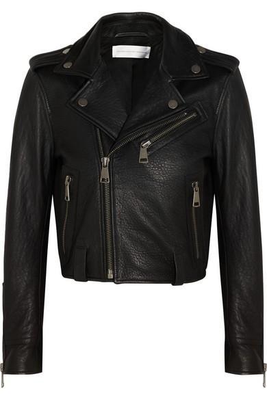 Victoria Beckham Leather Biker Jacket