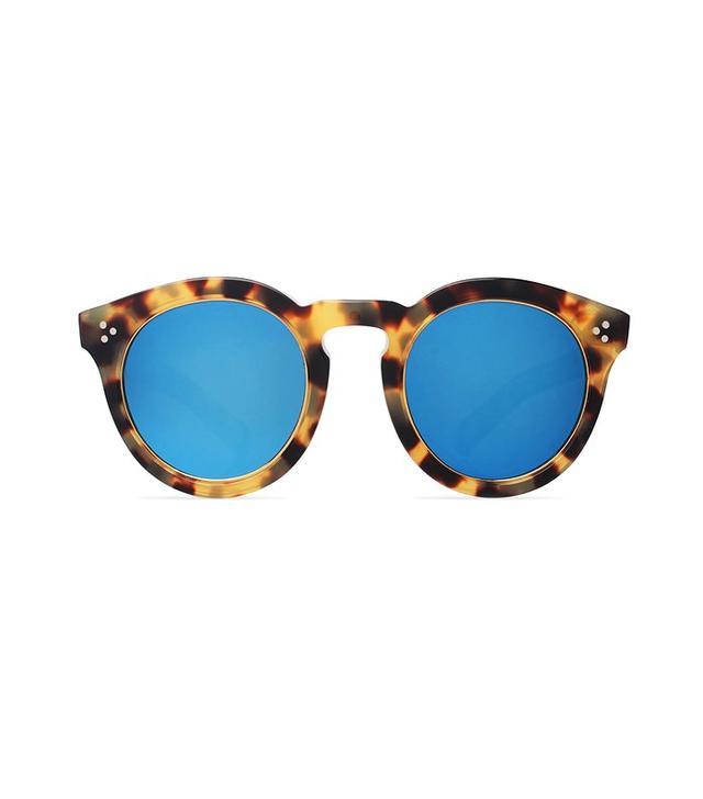 Illesteva Leonard II Ring Mirrored Sunglasses