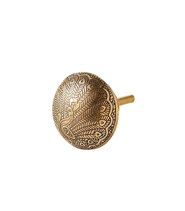 Urban Outfitters Peacock Knob