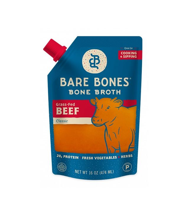 Bare Bones Bone Broth in Grass-Fed Beef