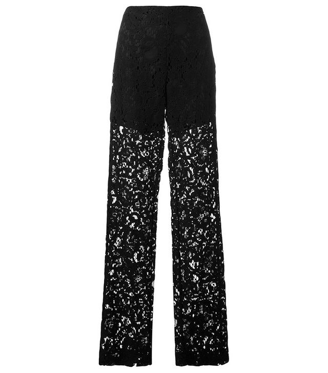 MSGM Lace Sheer Trousers