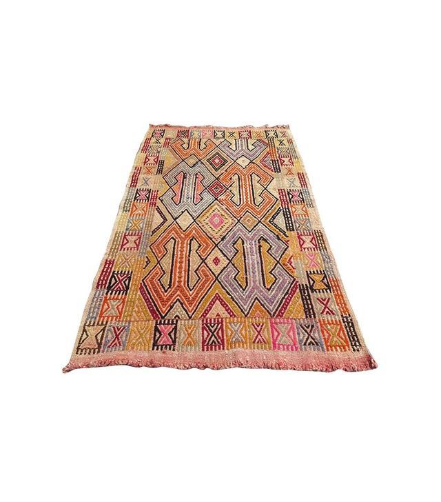 Turkish Kilim Vintage Rug