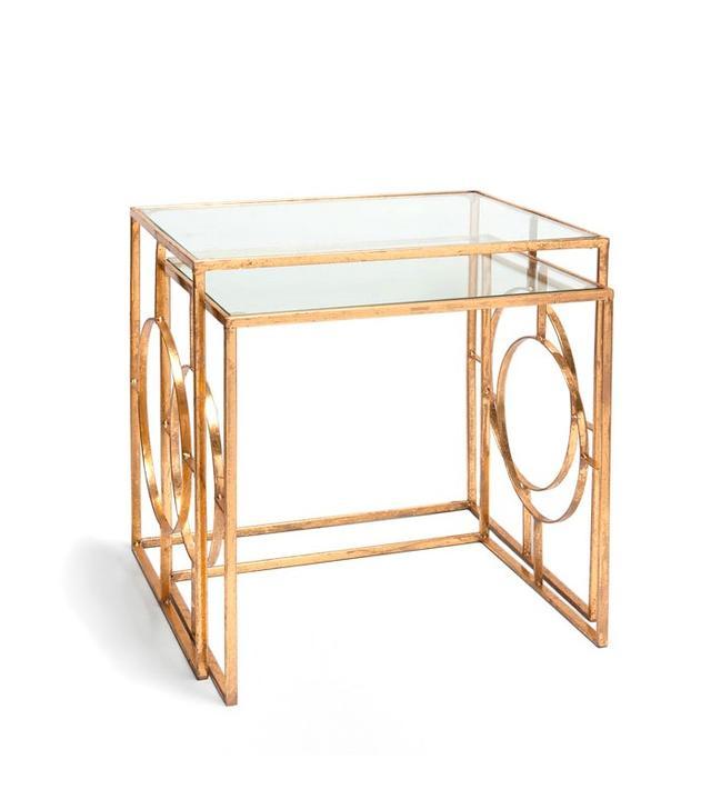 Zara Home Geometric Side Tables Set of 2