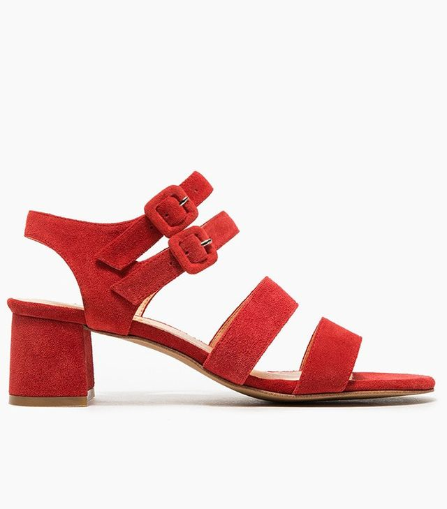Marais USA Jardin Heels in Cherry