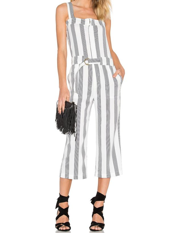 Shades of Gray by Micah Cohen Utility Jumpsuit