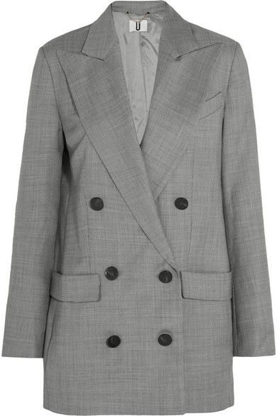 Topshop Unique Wycliffe Wool-Twill Blazer