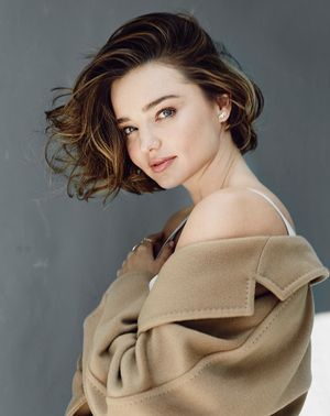 Miranda Kerr Talks That #OrganicBeauty Life for Gritty Pretty Magazine