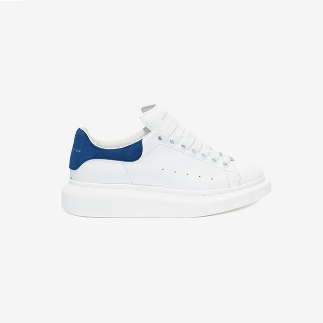Alexander McQueen 40MM Leather and Suede Sneakers