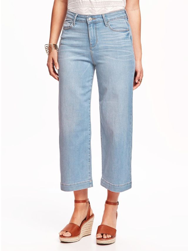 Old Navy High-Rise Culotte Jeans for Women
