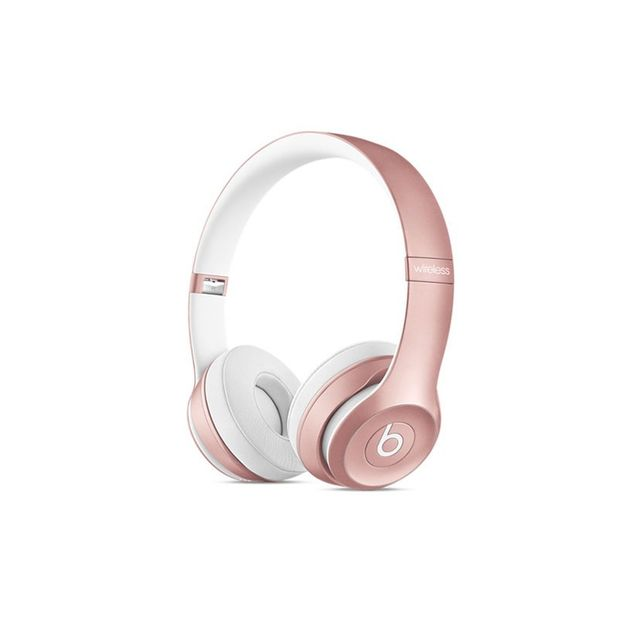 Apple Beats Solo2 Wireless On-Ear Headphones - Rose Gold