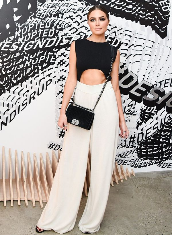 Olivia Culpo fashion style: Chanel bag
