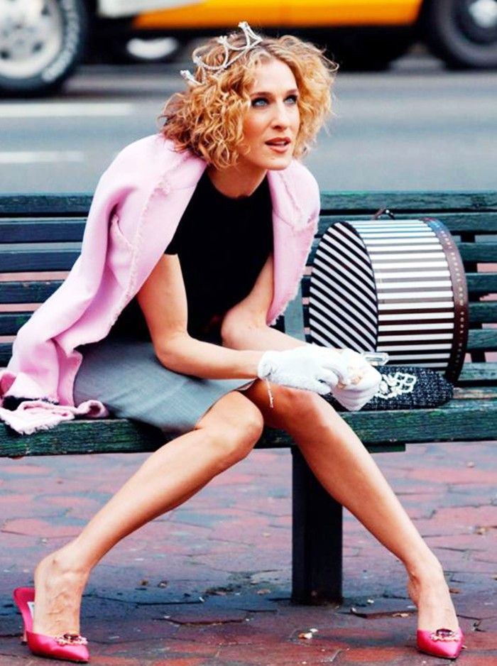 Carrie Bradshaw Manolo Shoes: picture of Carrie Bradshaw