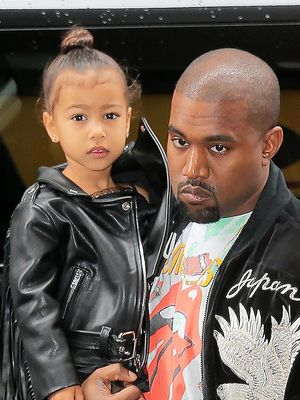North West Dressed Like a Mini New York Girl This Weekend