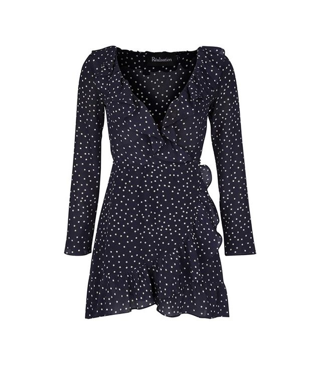 Réalisation The Diane Dress in Navy Star