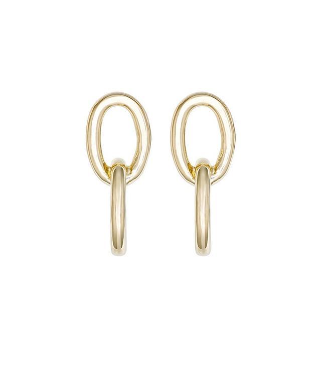 Jennifer Fisher Chain Link Double-Drop Earrings