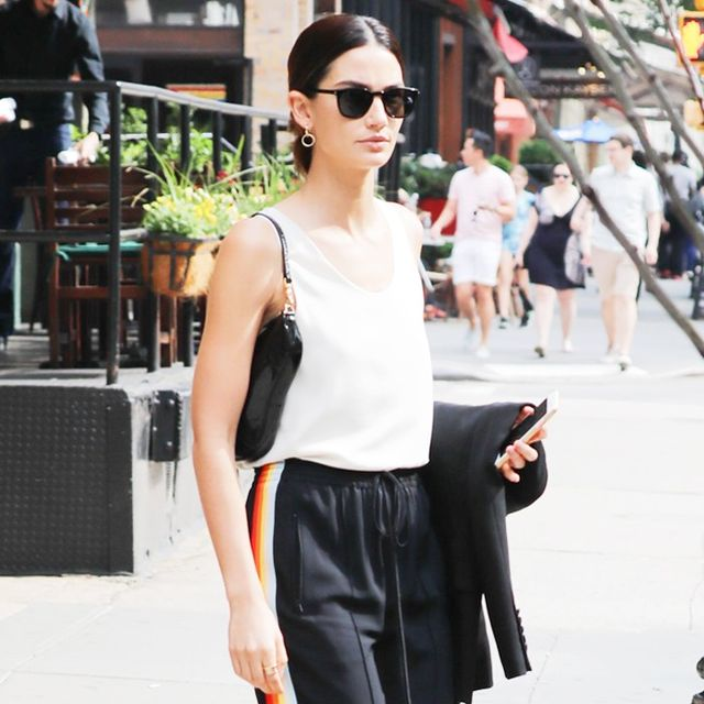 Lily Aldridge Has a Simple Styling Trick for Elongating Legs