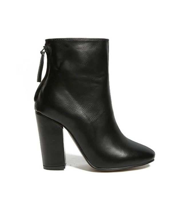 Stylenanda Center Seam Block Heel Boots