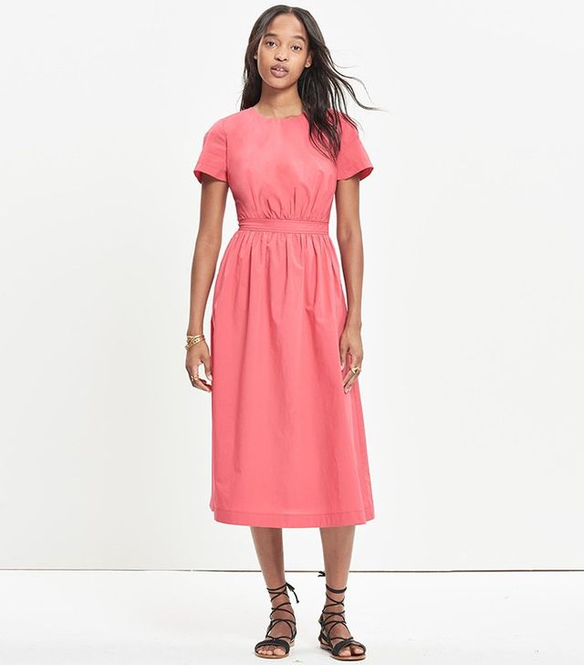 Madewell Open-Back Midi Dress