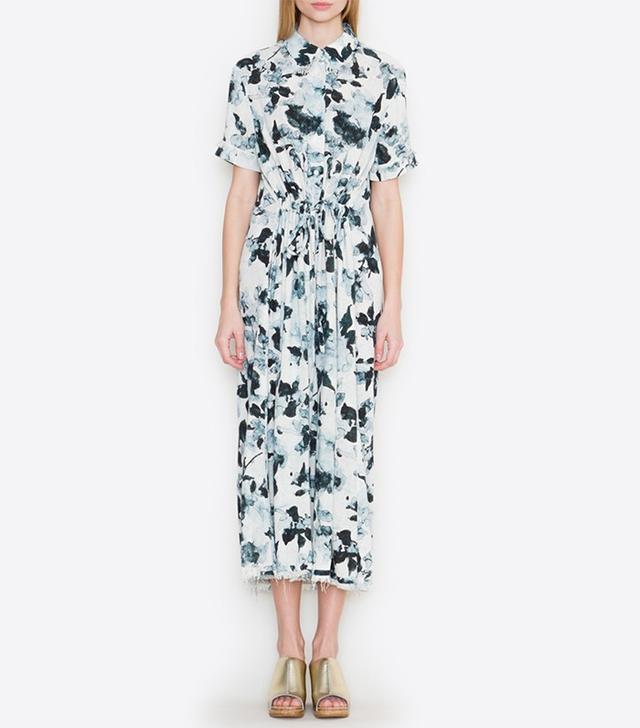 Raquel Allegra Watercolor Floral Dress
