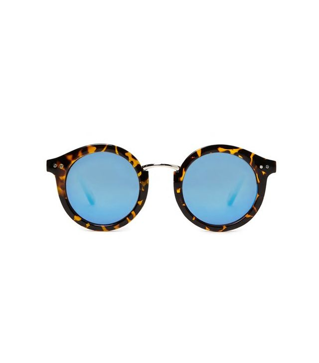 Forever 21 Tortoiseshell Round Sunglasses
