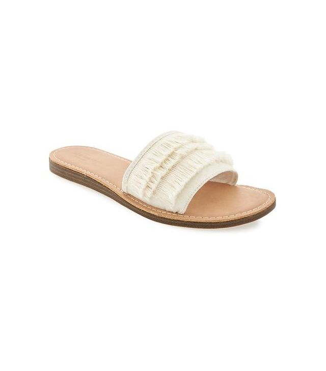 Old Navy Sueded Fringe Sandals for Women