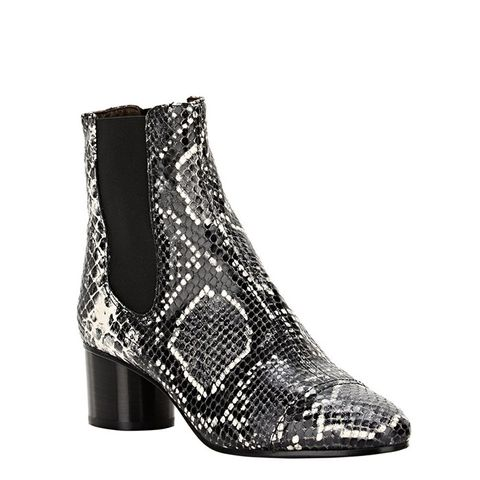 Python Stamped Boots