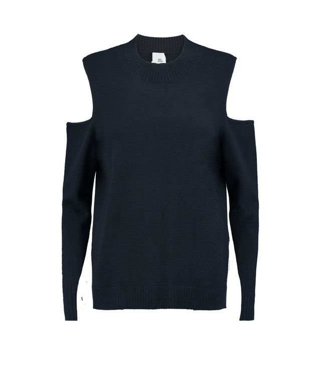Iris and Ink Paloma Cutout Cashmere Sweater