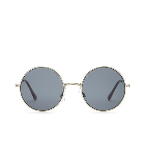 Tonal Round Sunglasses