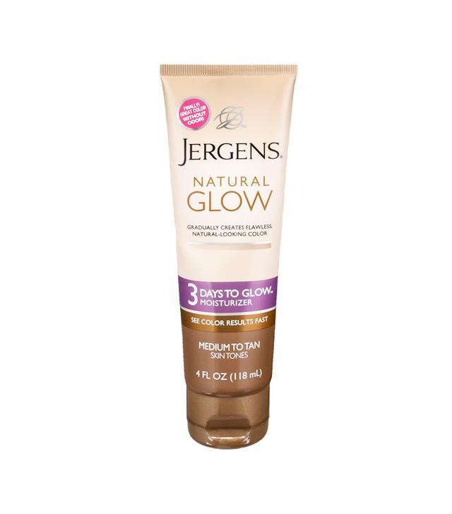 Jergens Natural Glow 3 Days To Glow Moisturizer in Medium to Tan