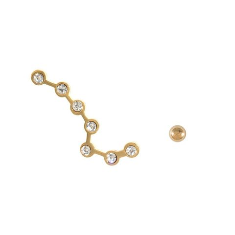 Constellation Gold Ear Cuff