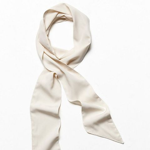 High Street Solid Skinny Scarf