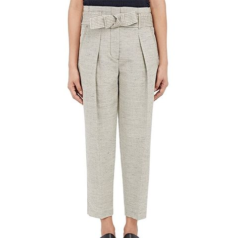 Paperbag-Waist Trousers